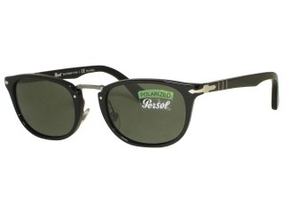 Persol PO3127s Sunglasses Polarized 95/58 Black