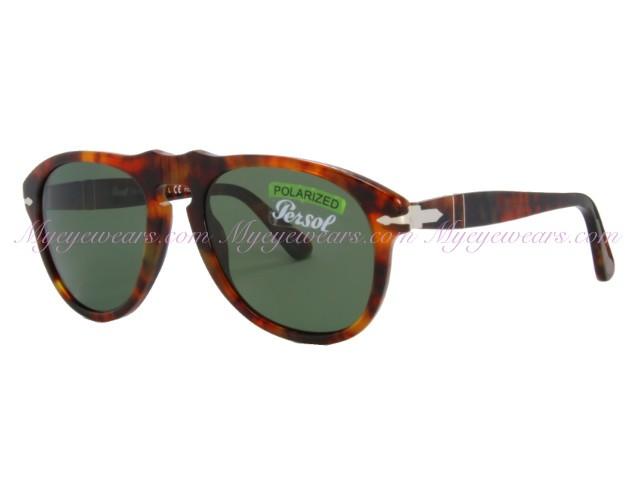 c6fed53f8ee91 Persol-Persol PO649s Sunglasses 108 58 Light Havana Polarized ...