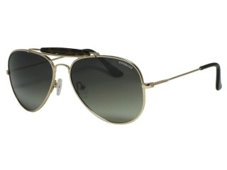 Polaroid X 4320 Aviator Gold Metal Polarized Sunglasses