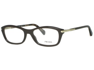 Prada Eyewear VPR04P Dark Brown (DHO) Eyeglasses 52mm
