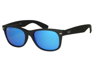 Ray Ban RB2132 New Wayfarer 622/17 Blue Mirror