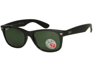 Ray Ban RB2132 New Wayfarer 901/58 Polarized Sunglasses