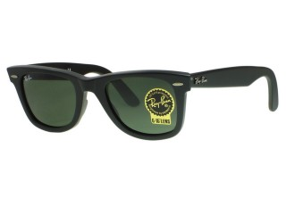 Ray Ban RB2140F Wayfarer Asian Fit 901S Matte Black