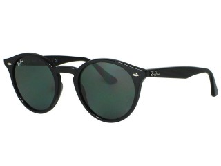 Ray Ban RB2180 Round 601/71 Black Sunglasses