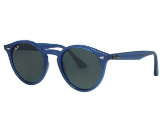 Ray Ban RB2180 Round 6165/87 Blue Sunglasses