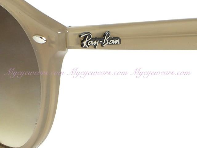 Ray Ban RB2180 Round 6166/13 Turtledove Sunglasses