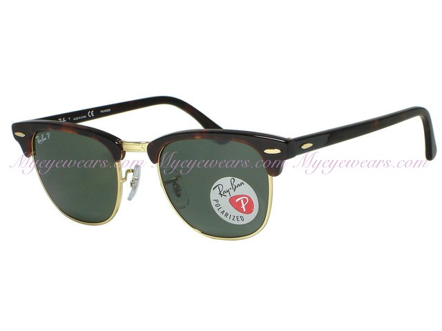 4de3c7f7caf5 Ray Ban-Ray Ban RB3016 Clubmaster 990/58 Red Havana Polarized ...