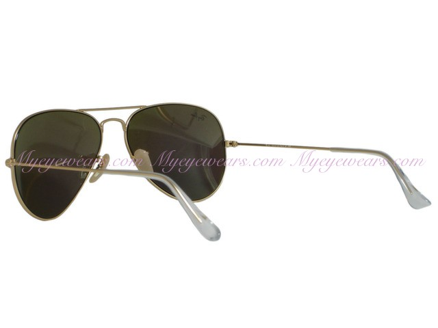 d32996fc0a Ray Ban-Ray Ban RB3025 Aviator 112 19 Matte Gold Green Mirror ...