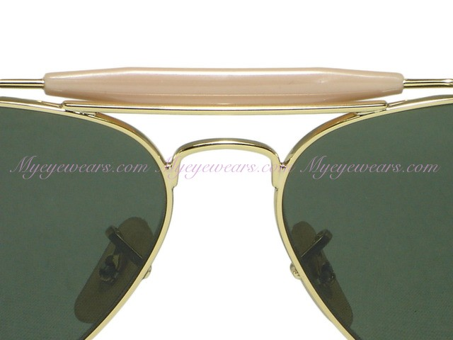 555b8dd817 ... purchase ray ban rb3030 outdoorsman l0216 gold sunglasses 8be3e 06eb4