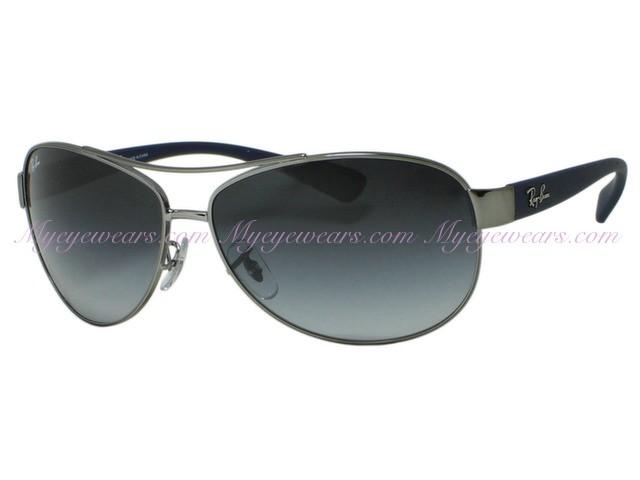 82f6b72f4f Ray Ban-Ray Ban RB3386 Gunmetal 107/8G Sunglasses- - Online Sale ...