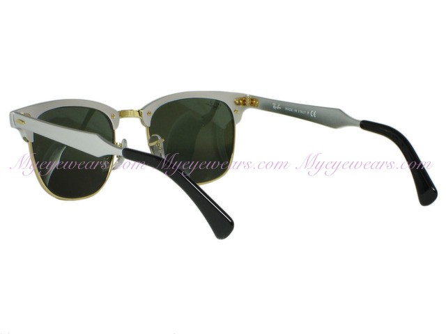 092ae4463f31c Ray Ban-Ray Ban RB3507 Clubmaster Aluminum 137 40 Silver- - Online ...