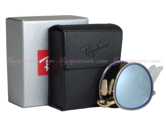 fad7a535883f7 Ray Ban-Ray Ban RB3517 Round 001 30 Gold Folding- - Online Sale shop ...