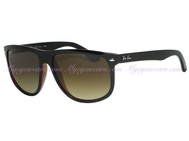 Ray Ban-Ray Ban RB4147 6095 85 Top Black On Brown- - Online Sale ... 9458c2de22