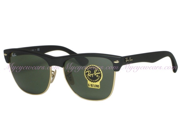 6f510787c2 Ray Ban-Ray Ban RB4175 Clubmaster Oversized 877 Demi Black ...