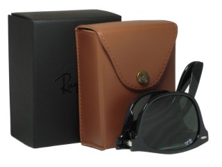Ray Ban RB4223 Folding Liteforce 601 Black Sunglasses