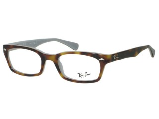 Ray Ban RX5150 5238 Top Havana On Opal Blue Eyeglasses