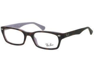Ray Ban RX5150 5240 Top Havana on Opal Violet Eyeglasses