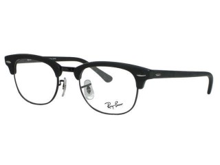 Ray Ban RX5154 Clubmaster 2077 Matte Black 49mm