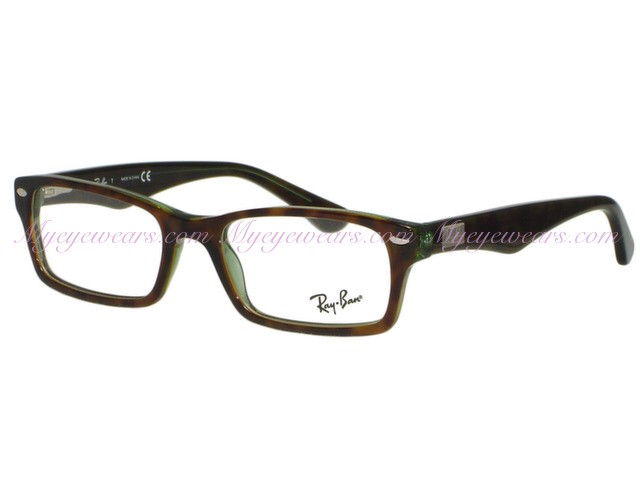d5700c8ef38fb Ray Ban-Ray Ban RX5206 2445 Havana   Green- - Online Sale shop at ...