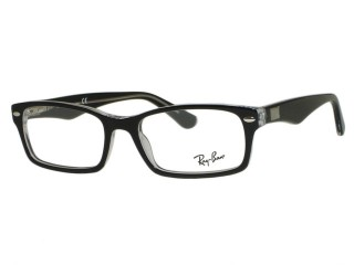 Ray Ban RX5206 2034 Top Black On Transparent