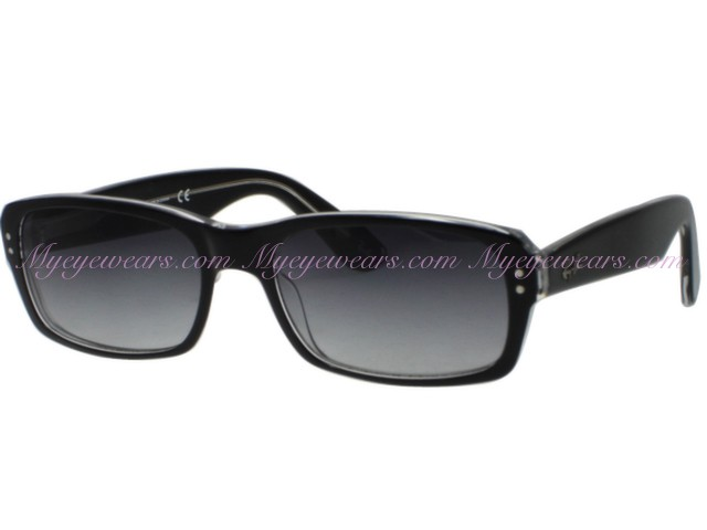 Ray Ban-Ray Ban RB5223 Black Transparent Sunglasses Plastic Frame ...