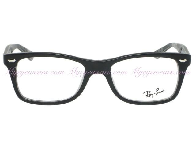 a28b2eb902d92 Ray Ban-Ray Ban RX5228 5405 Matte Black On Texture- - Online Sale ...