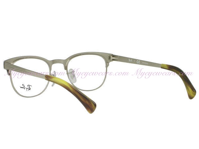 578fad2efa ... clearance ray ban rx6317 clubmaster style 2835 matte silver 10c5a 26d5a