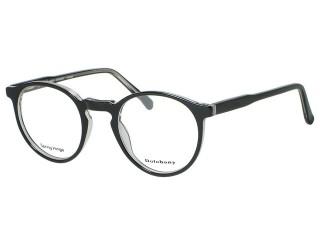 Vintage Style TURNER Black/Crystal Plastic eyeglasses