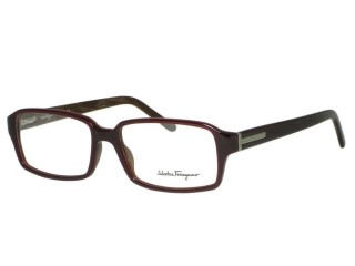 Salvatore Ferragamo 2666 Redish Brown Eyeglasses