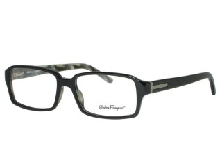 Salvatore Ferragamo 2666 Black Gray Eyeglasses