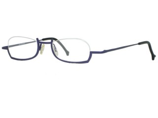 Theo Eyewear SHI Unique Purple Titanium Eyeglasses