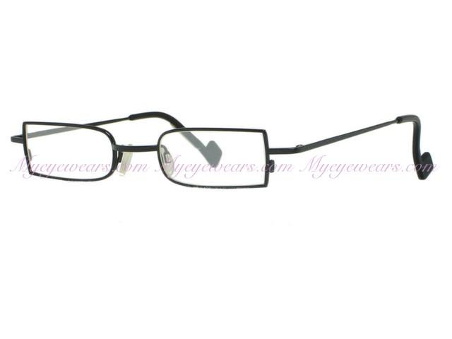 9368465028aaf8 Theo-Theo Eyewear TINTIN Unique Black Titanium Eyeglasses- - Online ...
