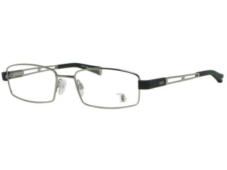 Tods TO5007 5007 014 Shiny Silver Metal Eyeglasses