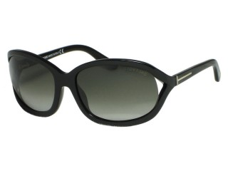Tom Ford TF278 Vivienne 01B Shiny Black Sunglasses
