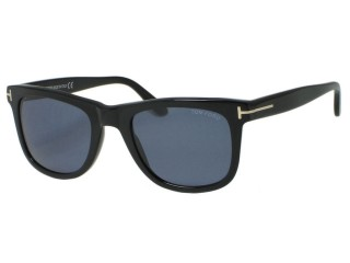 Tom Ford TF336 Leo 01V Shiny Black Sunglasses