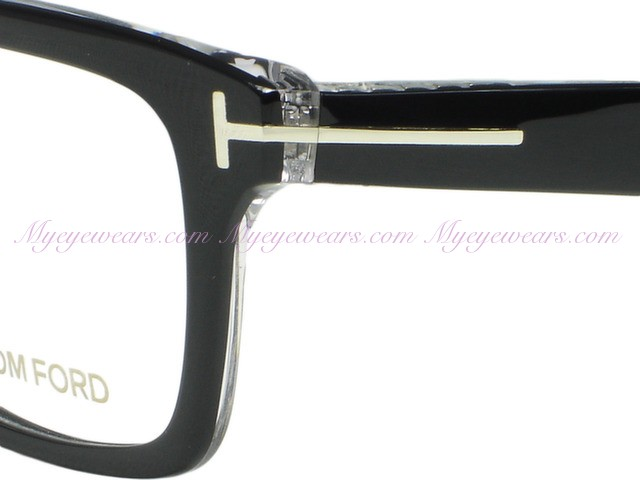 Tom Ford Tom Ford Eyewear Tf5146 003 Black Crystal Eyeglasses