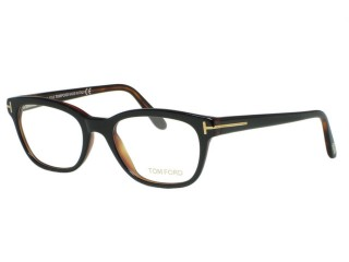 Tom Ford Eyewear TF5207 005 Black/Brown Eyeglasses