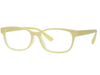 Trend 117 Light Yellow Made in Korea Quality Eyeglasses