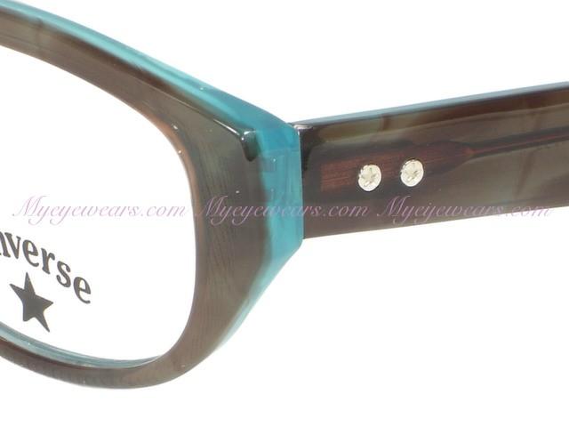5190a4d73429 Converse-Converse Eyewear BALLROOM Brown Eyeglasses- - Online Sale ...