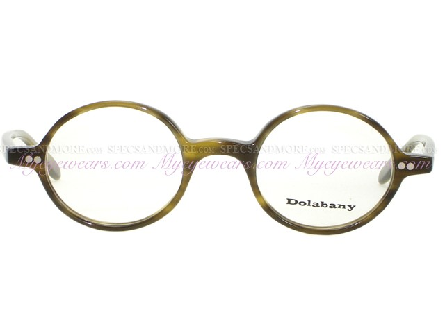 1f34ffc748 Anonymous-CLOVER Olive Streak Frame Vintage style Eyeglasses ...