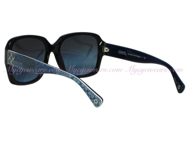 e99a167b4e50 Coach-Coach HC8044 Megan L042 5107/17 Black / Blue Sunglasses ...