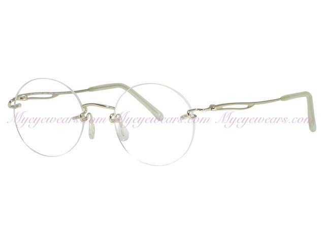 8b97a20a7072 Kazuo Kawasaki-Kazuo Kawasaki Eyewear 638 Gold Eyeglasses- - Online ...