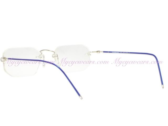5f345d7b83f1 Kazuo Kawasaki-Kazuo Kawasaki Eyewear 639A Silver Blue HG Shape ...