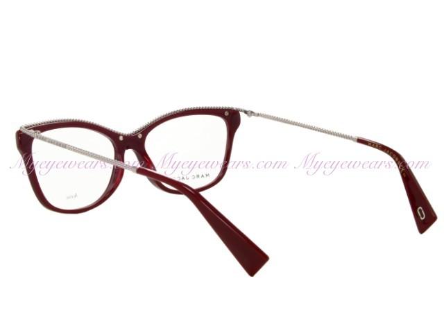 d3fdc32bfdc Marc Jacobs-Marc Jacobs Marc 167 Opal Burgundy LHF Eyeglasses ...