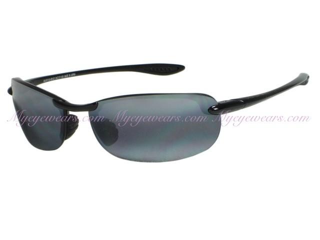 01ccff9c575 Maui Jim-Maui Jim Makaha 405-02 Gloss Black Polarized Sunglasses ...