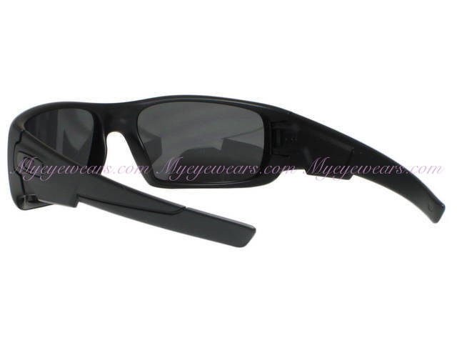 238253feb5 Oakley-Oakley Crankshaft OO9239-06 Matte Black Polarized Sunglasses ...