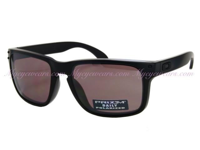 456fe28129b Oakley-Oakley Holbrook OO9102-90 Matte Black Prizm Daily Polarized ...