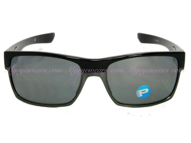 b10d2c3fe8 Oakley-Oakley TwoFace OO9189-01 Shiny Black Polarized Sunglasses ...
