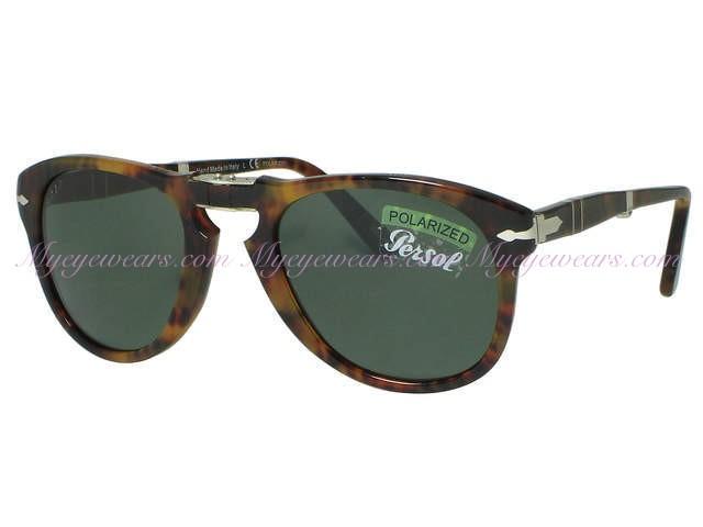 357c19f079 Persol-Persol PO714s Folding Sunglasses Cafe  (108) Polarized ...