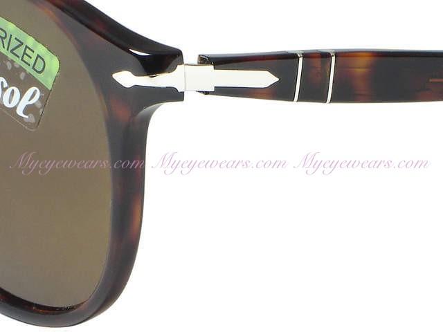 0fd79e704f305 Persol-Persol PO9649s Sunglasses 24 57 Polarized Havana- - Online ...